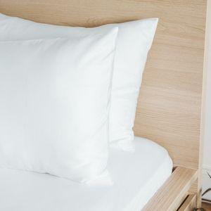 ETTITUDE Bamboo Lyocell Pillowcase Set White NIB!